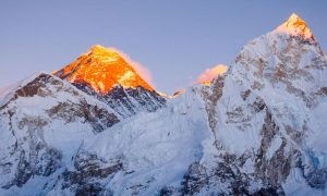 Mt Everest 8848m